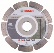 Алмазный круг 125-22,23 Professional for Concrete BOSCH (2608602197) 2.608.602.197