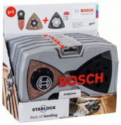 Набор Starlock Best of Sanding Set, 6 шт. BOSCH (2608664133) 2.608.664.133