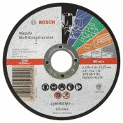 Отрезной круг 125*1,6 Rapido Multi Construction BOSCH (2608602383) 2.608.602.383
